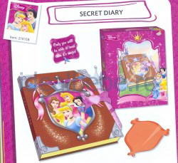 Imc Toys - Jurnalul secret Disney Princess