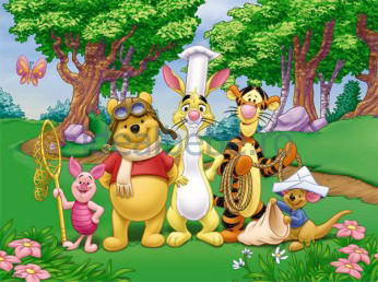 Dino - Winnie si Prietenii 48 piese