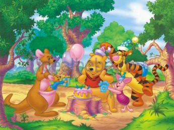 Dino - Winnie the Pooh`s Birthday 99 piese