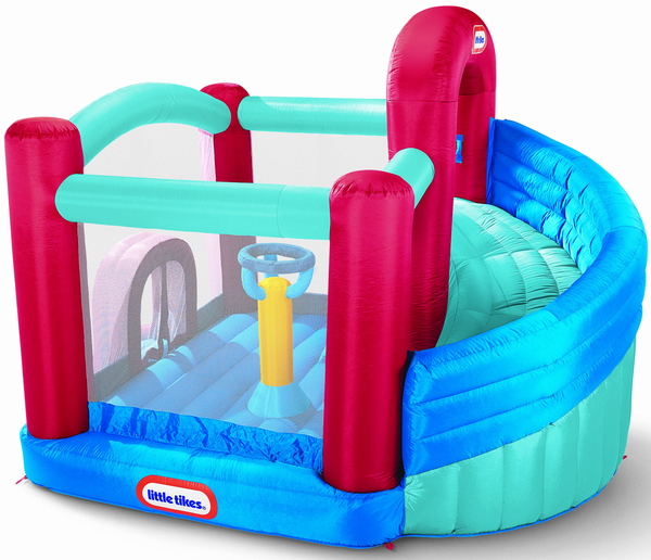 Little Tikes - Spatiu de joaca Super Spiral Bouncer