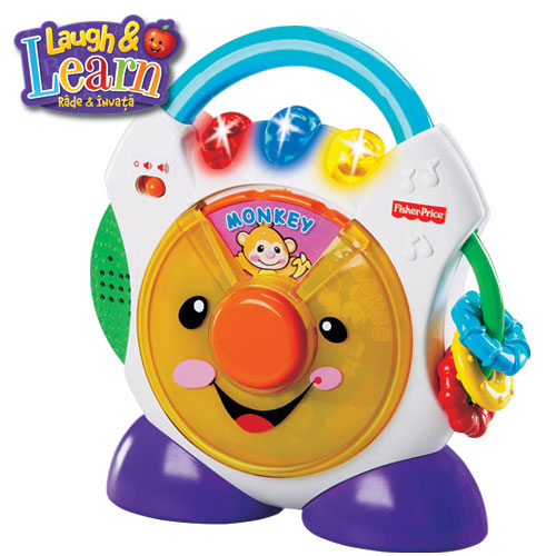 Fisher-Price - Cd player (in limba romana)