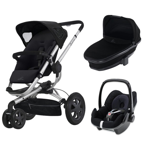Quinny - Carucior Buzz 3 Landou Foldable Cos Auto Pebble