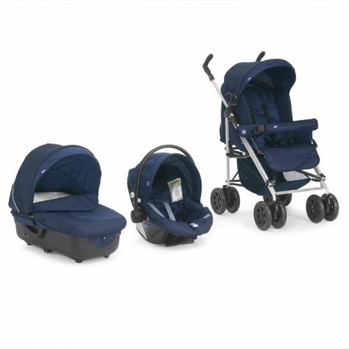 Chicco - Carucior Trio Enjoy Fun fun blue