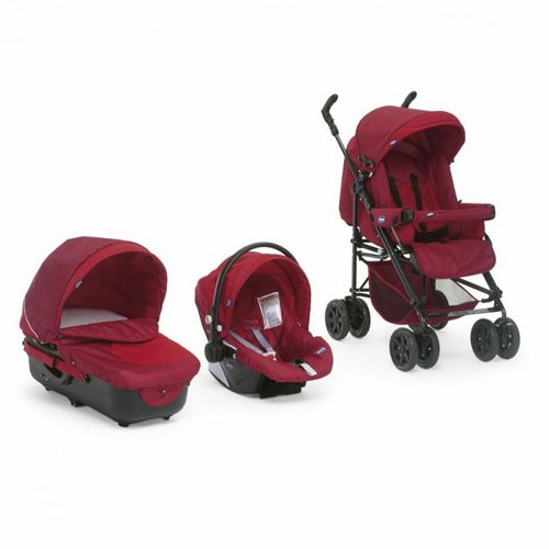 Chicco - Carucior Trio Enjoy Fun garnet