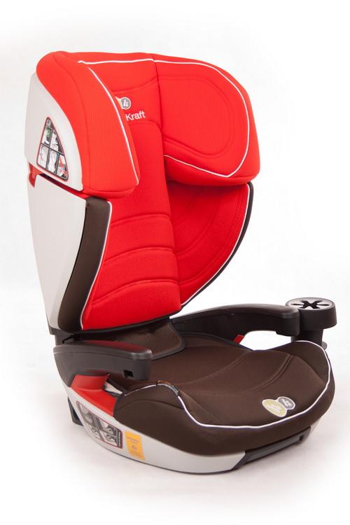 KinderKraft - Scaun auto Cocoon Red