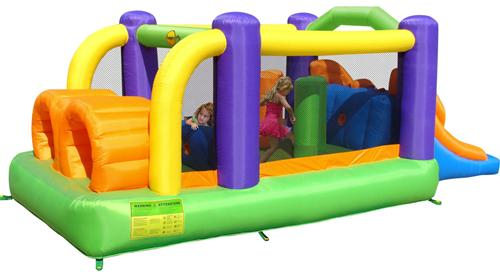Happy Hop - Complex de joaca gonflabil Obstacole Course
