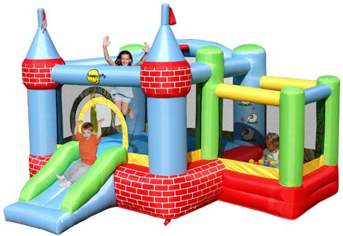 Happy Hop - Castel de joaca gonflabil cu bile