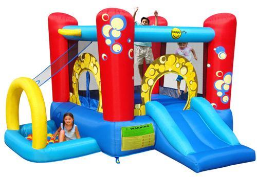 Happy Hop - Complex de joaca gonflabil Bubble 4 in 1