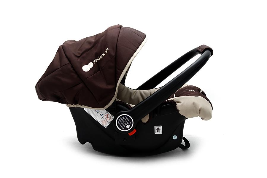 KinderKraft - Scaun auto Kiddy Brown