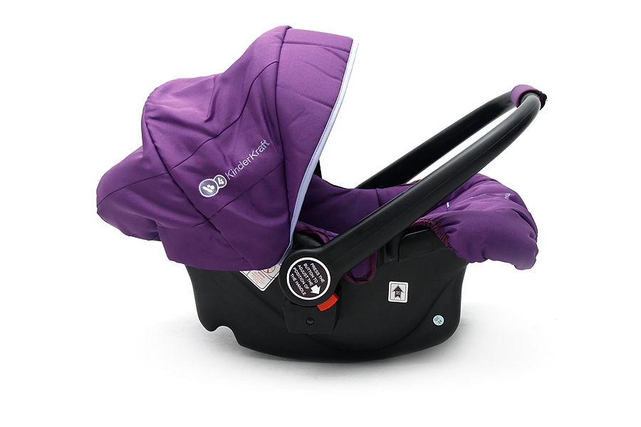 KinderKraft - Scaun auto Kiddy Purple