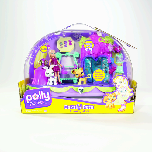 Polly Pocket - Polly Pocket Podium pentru Animale