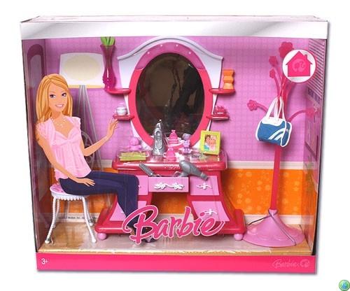 Mobilier Birou Asortat Pentru Papusa Barbie
