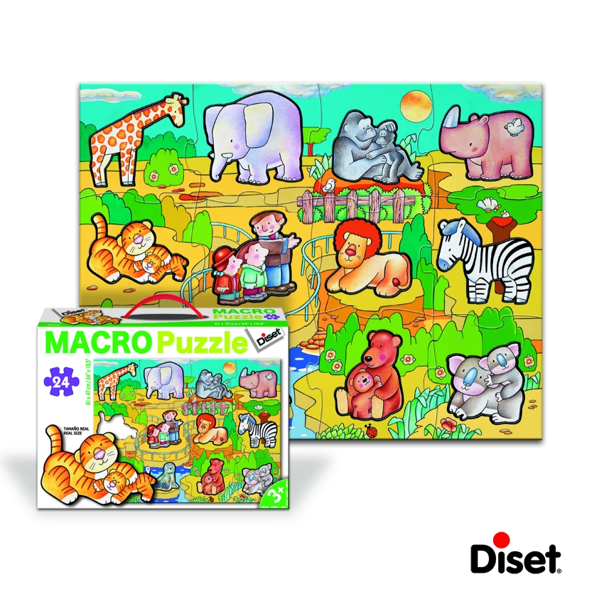 Diset - Macro Puzzle Arca lui Noe