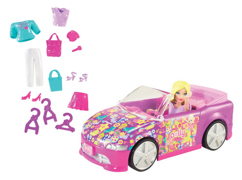 Polly Pocket - Masina decapotabila