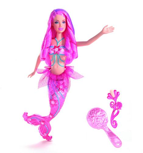 Barbie - Barbie sirena roz