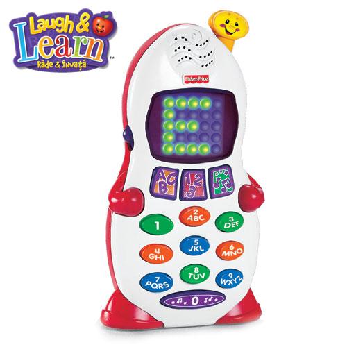 Fisher-Price - Telefonul vorbitor( in limba romana)
