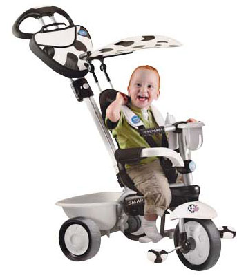 Smart Trike - Tricicleta Smart Trike 3 in 1 Zoo Cow