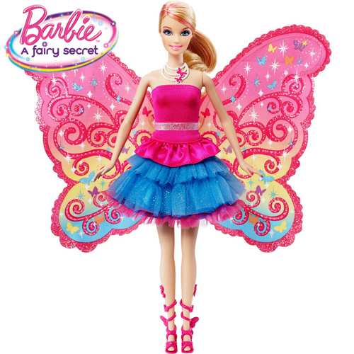 Barbie A Fairy Secret - Papusa Barbie transformabila
