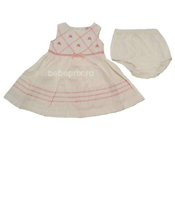 Rochita bebe eleganta White
