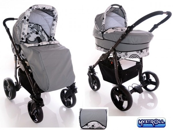 Mystroll - Carucior 2 in 1 Happy