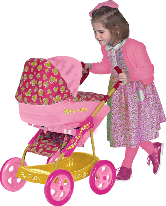 Coloma - Carucior Papusi Princess 3in1