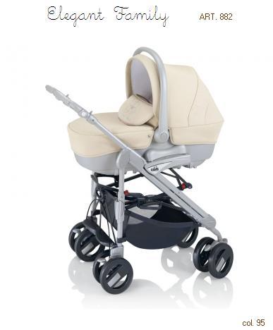 Cam - Sistem carucior 3 in 1 Elegant Family 2012