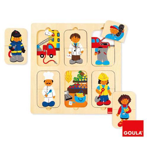 Goula - Puzzle cu meserii