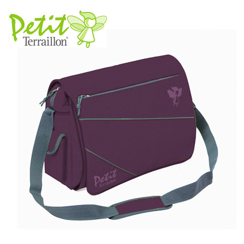Petit Terraillon - Geanta transport evolutiva Plum