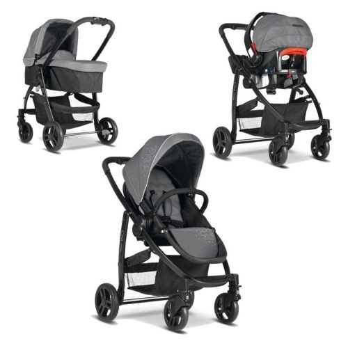 Graco - Carucior Evo 3 in 1 - Charcoal
