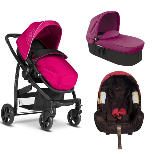 Graco - Carucior Evo 3 in 1 - Grape