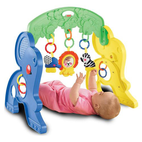 Fisher-Price Link-a-doos Safari Activity Gym