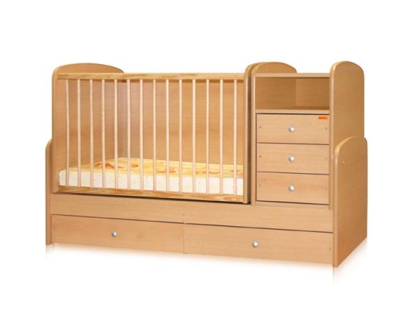 Bertoni - Mobilier lemn MAXI + cearceaf de pat cadou