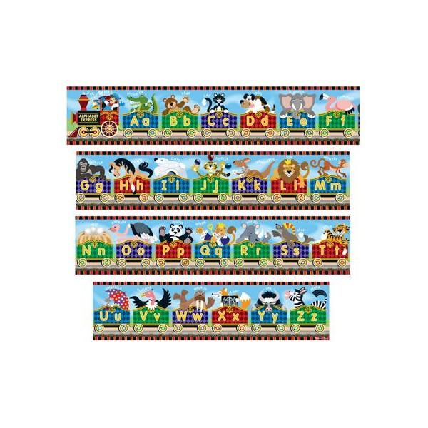 Melissa & Doug - Puzzle gigant de podea Alfabet Express