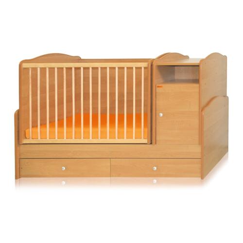 Bertoni - Mobilier lemn TREND + cearceaf de pat cadou