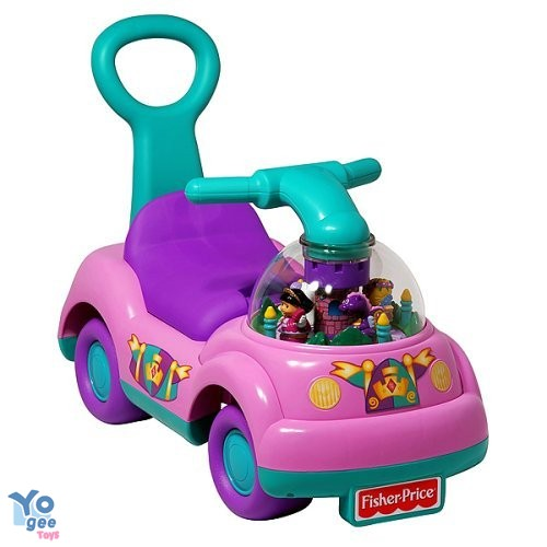Fisher-Price Masinuta impingator Princess Ride-On