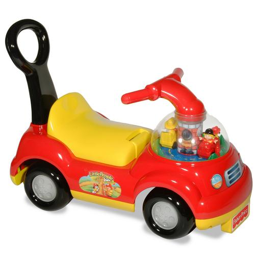 Fisher-Price Masinuta impingator Pompieri Ride-On