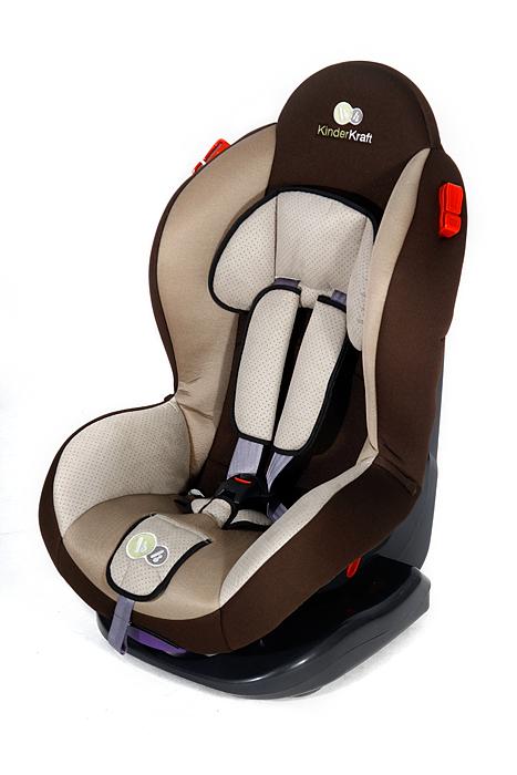 KinderKraft - Scaun auto Shell Plus Brown