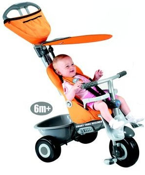 Smart Trike - Tricicleta Recliner 4 in 1 Orange