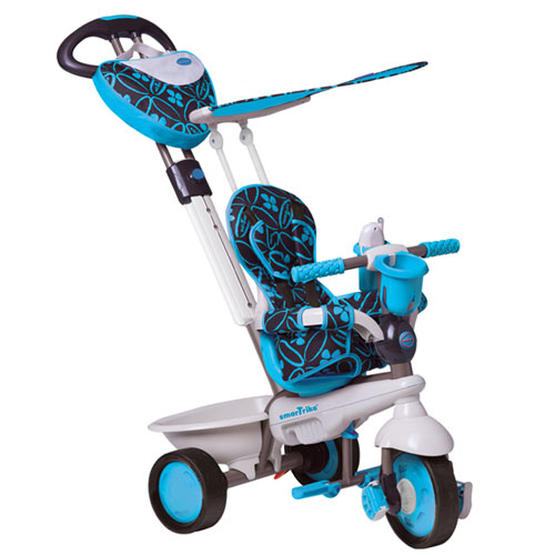Smart Trike - Tricicleta Dream 4 in 1 Blue - Touch Steering