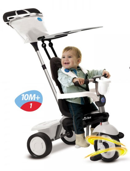 Smart Trike - Tricicleta Spirit 4 in 1 Cow - Touch Steering