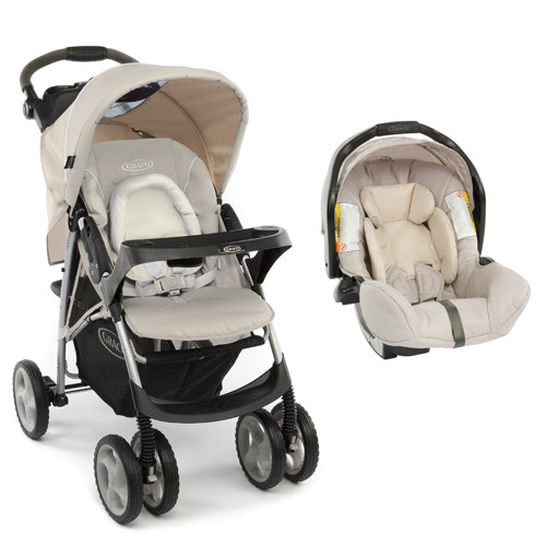 Graco - Carucior Ultima+ TS 2 in 1 - Biscuit